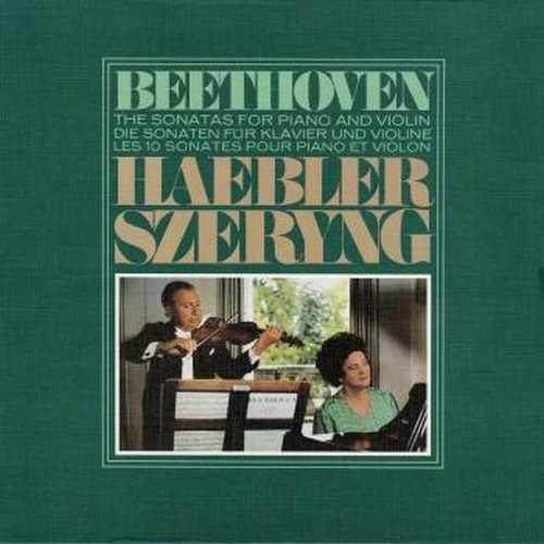 Szeryng, Haebler: Beethoven - Piano and Violin Sonatas (24/96 FLAC)
