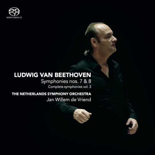 Vriend: Beethoven - Symphonies no. 7 & 8 (SACD)