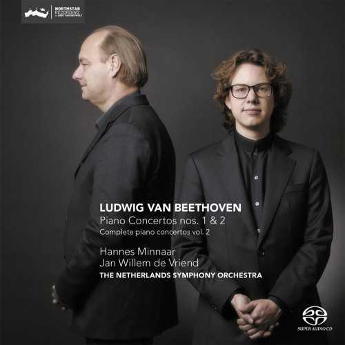 Minnaar, Vriend: Beethoven - Piano Concertos no.1, 2 (24/352 FLAC)