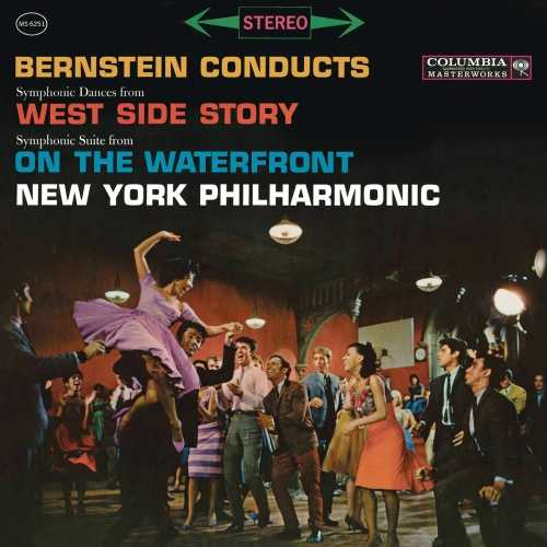 Bernstein conducts Symphonic Dances from West Side Story, Symphonic Suite from On The Waterfront (24/96 FLAC)