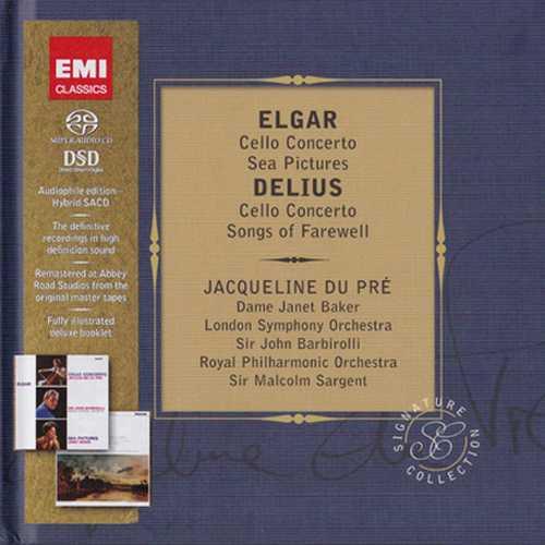 Du Pré: ElgDu Pré: Elgar, Delius - Cello Concerto (SACD)ar - Cello Concerto in E minor op.85 (SACD)