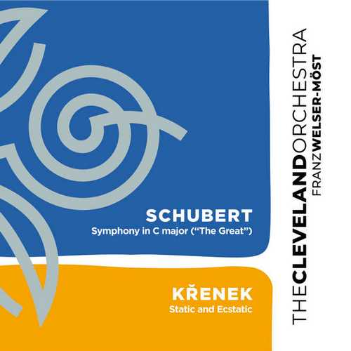 """Welser-Most: Schubert - Symphony no.9 """"The Great"""", Krenek - Static and Ecstatic (24/96 FLAC)"""