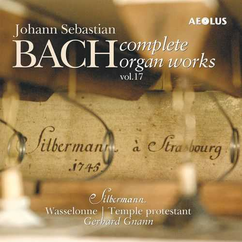 Gnann: Bach - Complete Organ Works vol.17 (24/88 FLAC)