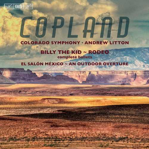 Litton: Copland - Billy the Kid, Rodeo (24/96 FLAC)