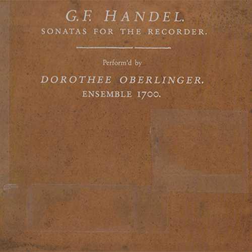 Oberlinger, Ensemble 1700: Handel - Sonatas For The Recorder (SACD)