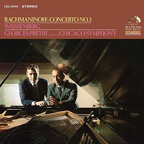 Weissenberg, Prêtre: Rachmaninov - Piano Concerto no.3 (24/192 FLAC)
