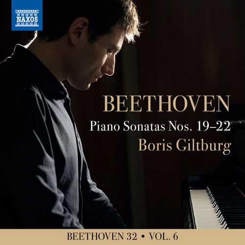 Boris Giltburg - Beethoven 32 vol.6. Piano Sonatas Nos. 19-22 (24/96 FLAC)