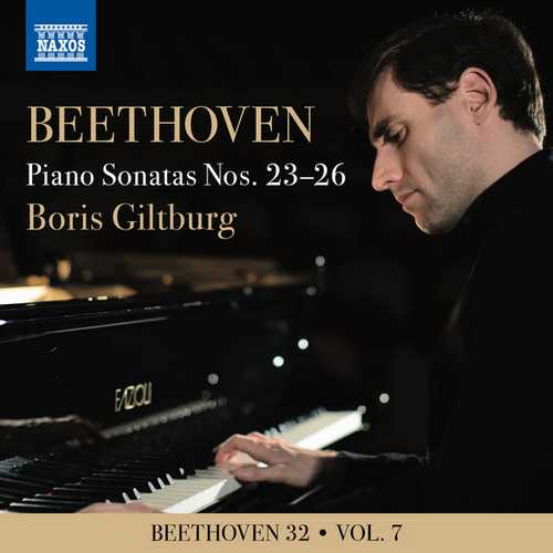 Boris Giltburg - Beethoven 32 vol.7. Piano Sonatas Nos. 23-26 (24/96 FLAC)