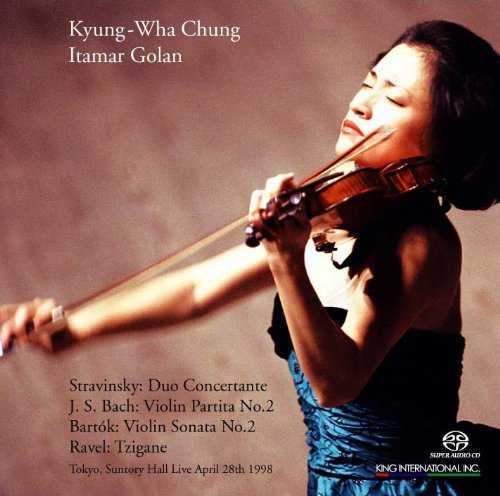 Kyung-Wha Chung, Itamar Golan - Tokyo Live April 28, 1998 (SACD)
