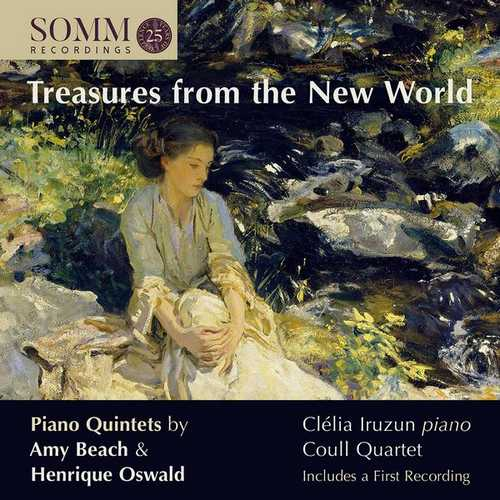 Iruzun, Coull Quartet: Treasures from the New World (24/96 FLAC)