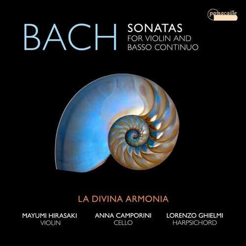La Divina Armonia: J.S. Bach - Sonatas for Violin and Basso Continuo (24/96 FLAC)