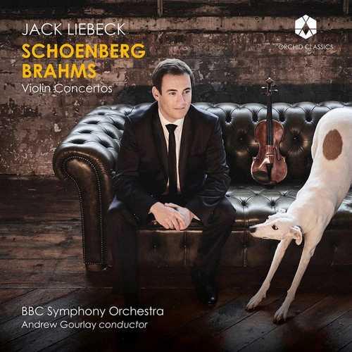 Liebeck: Schoenberg, Brahms - Violin Concertos (24/192 FLAC)