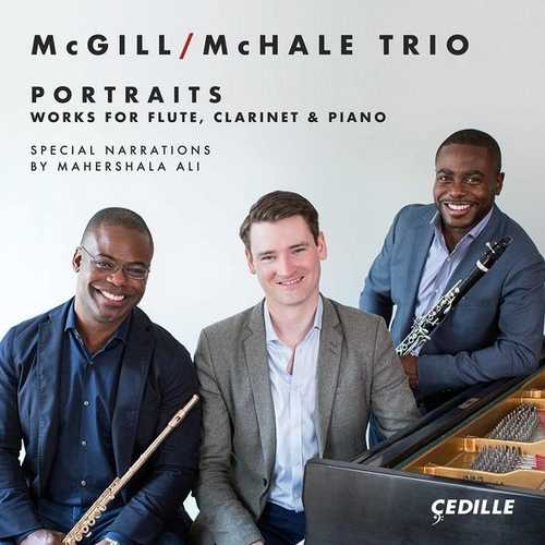 McGill/McHale Trio: Portraits Works for Flute, Clarinet & Piano (24/96 FLAC)
