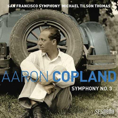 Michael Tilson Thomas: Copland - Symphony no.3 (24/96 FLAC)