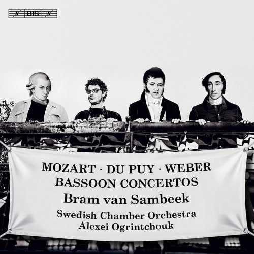 Ogrintchouk: Mozart, Du Puy, Weber - Bassoon Concertos (24/96 FLAC)