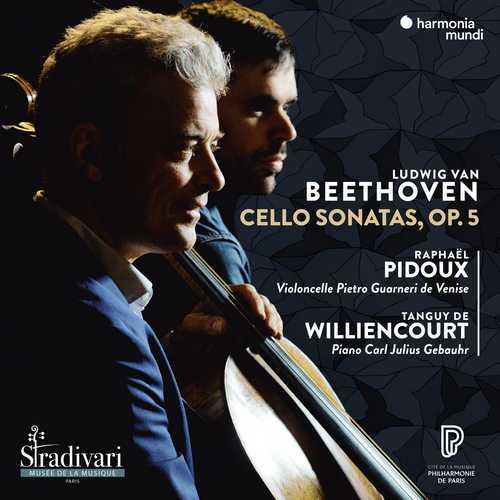 Pidoux, Williencourt: Beethoven - Cello Sonatas op.5 (24/96 FLAC)
