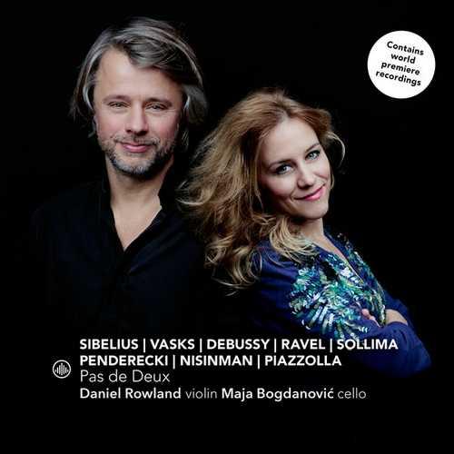 Daniel Rowland, Maja Bogdanovic - Pas de deux (24/96 FLAC)