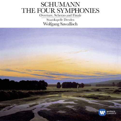 Sawallisch: Schumann - The Four Symphonies, Overture, Scherzo and Finale (24/96 FLAC)