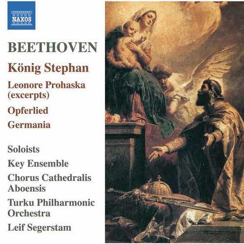 Segerstam: Beethoven - König Stephan, Leonore Prohaska, Opferlied, Germania (24/96 FLAC)