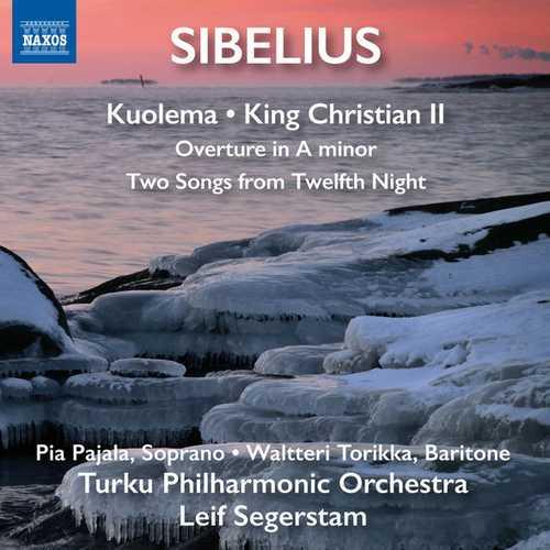 Segerstam: Sibelius - Kuolema, King Kristian II (24/96 FLAC)