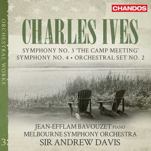 Bavouzet, Davis: Ives - Orchestral Works vol.3 (24/96 FLAC)