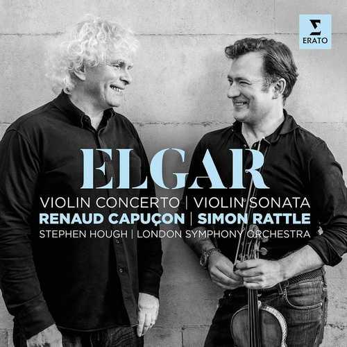 Capuçon, Rattle: Elgar - Violin Concerto, Violin Sonata (24/192 FLAC)