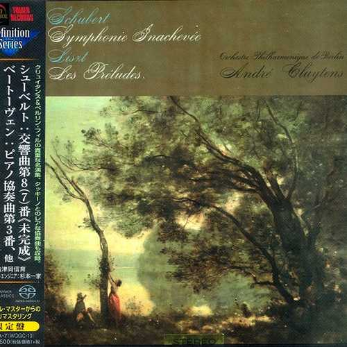 Cluytens: Schubert - Symphony no.8, Liszt - Les préludes, Beethoven - Piano Concerto no.3 (SACD)