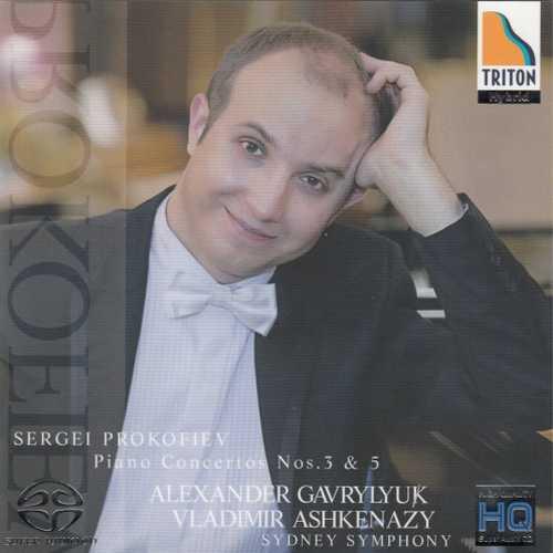Gavrylyuk, Ashkenazy: Prokofiev - Piano Concertos no.3 & 5 (SACD)