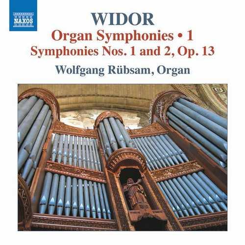 Wolfgang Rubsam: Widor - Organ Symphonies vol.1 (24/96 FLAC)