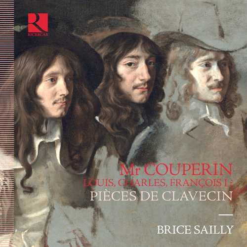 Sailly: Mr Couperin. Louis, Charles, François I? - Pieces de Clavecin (24/96 FLAC)