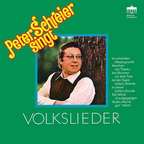 Peter Schreier singt Volkslieder (24/88 FLAC)