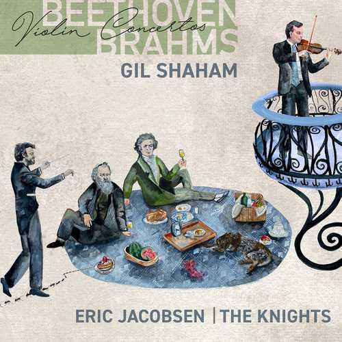 Shaham, Jacobsen: Beethoven, Brahms - Violin Concertos (24/96 FLAC)