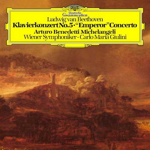 """Benedetti Michelangeli, Giulini: Beethoven - Piano Concerto no.5 """"Emperor"""" (24/192 FLAC)"""