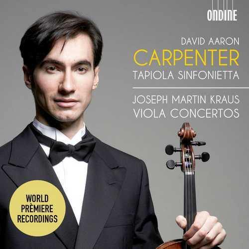 Carpenter: Kraus - Viola Concertos (24/96 FLAC)