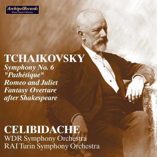 Celibidache: Tchaikovsky - Orchestral Works (FLAC)