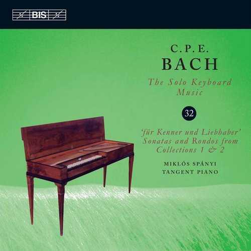 C.P.E. Bach - The Solo Keyboard Music vol.32 (24/96 FLAC)