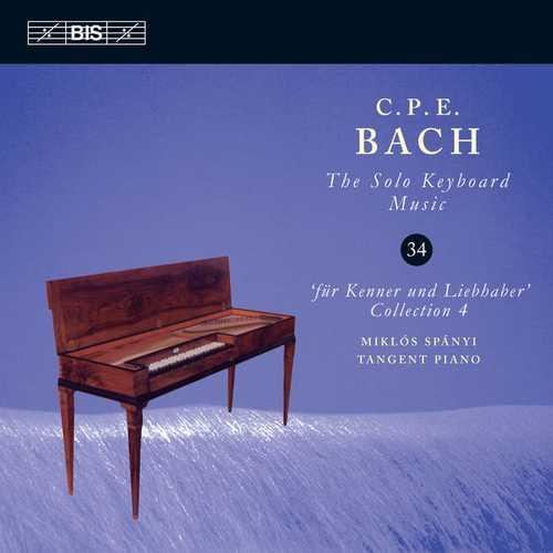 C.P.E. Bach - The Solo Keyboard Music vol.34 (24/96 FLAC)