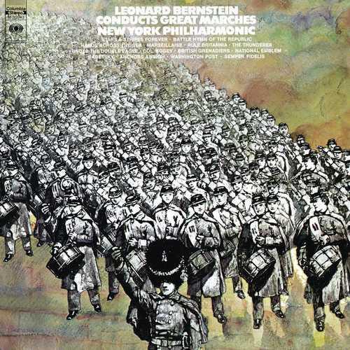 Leonard Bernstein Conducts Great Marches (24/96 FLAC)