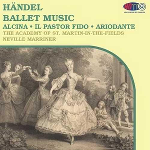 Marriner: Handel - Ballet Music (DSD)