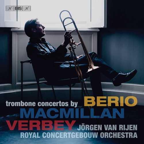 Trombone Concertos by Berio, MacMillan, Verbey (24/96 FLAC)
