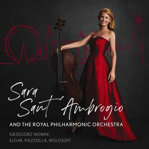 Sara Sant'Ambrogio - Elgar, Piazzolla, Wolosoff (24/192 FLAC)