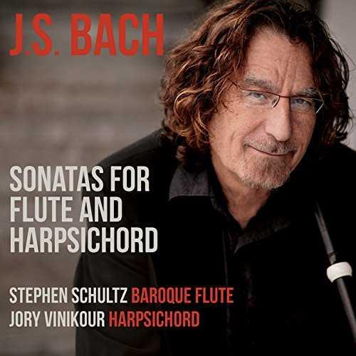 Schultz, Vinikour: Bach - Sonatas for Flute and Harpsichord (24/96 FLAC)