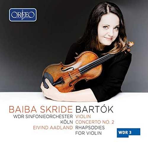 Skride, Aadland: Bartók - Violin Concerto no.2, Rhapsodies for Violin (24/48 FLAC)