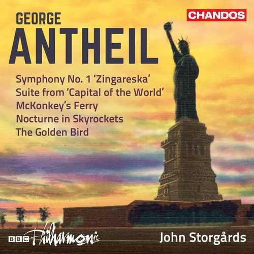 Storgårds: Antheil - Orchestral Works vol.3 (24/96 FLAC)