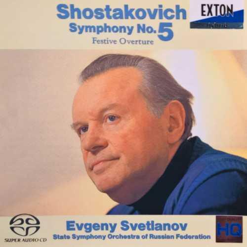 Svetlanov: Shostakovich - Symphony no.5 (SACD)