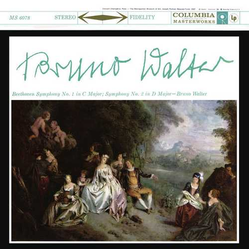 Walter: Beethoven - Symphonies no.1 & 2. Remastered (24/96 FLAC)