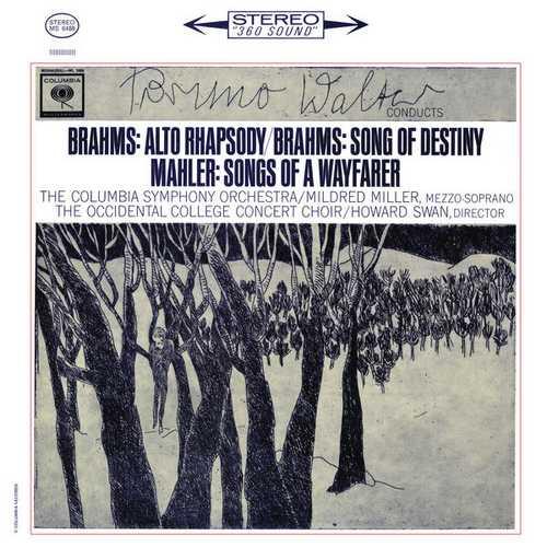 Walter: Brahms - Alto Rhapsody, Song of Destiny, Mahler - Songs of WayFarer. Remastered (24/96 FLAC)