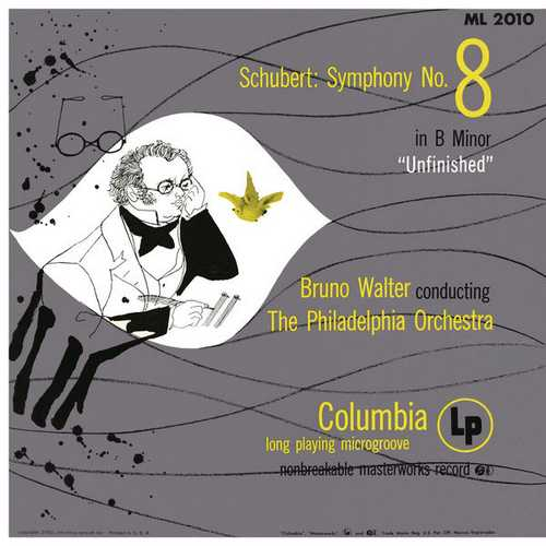"""Walter: Schubert - Symphony no.8 """"Unfinished"""". Remastered (24/96 FLAC)"""