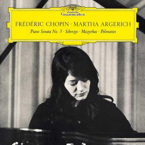 Argerich: Chopin - Piano Sonata no.3, Scherzos, Mazurkas, Polonaises (24/192 FLAC)