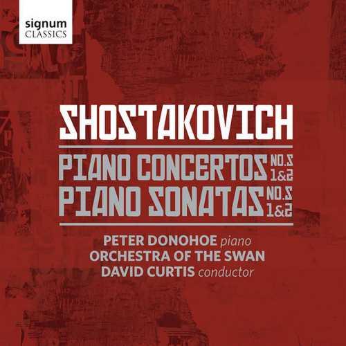 Donohoe, Curtis: Shostakovich - Piano Concertos & Sonatas (24/96 FLAC)